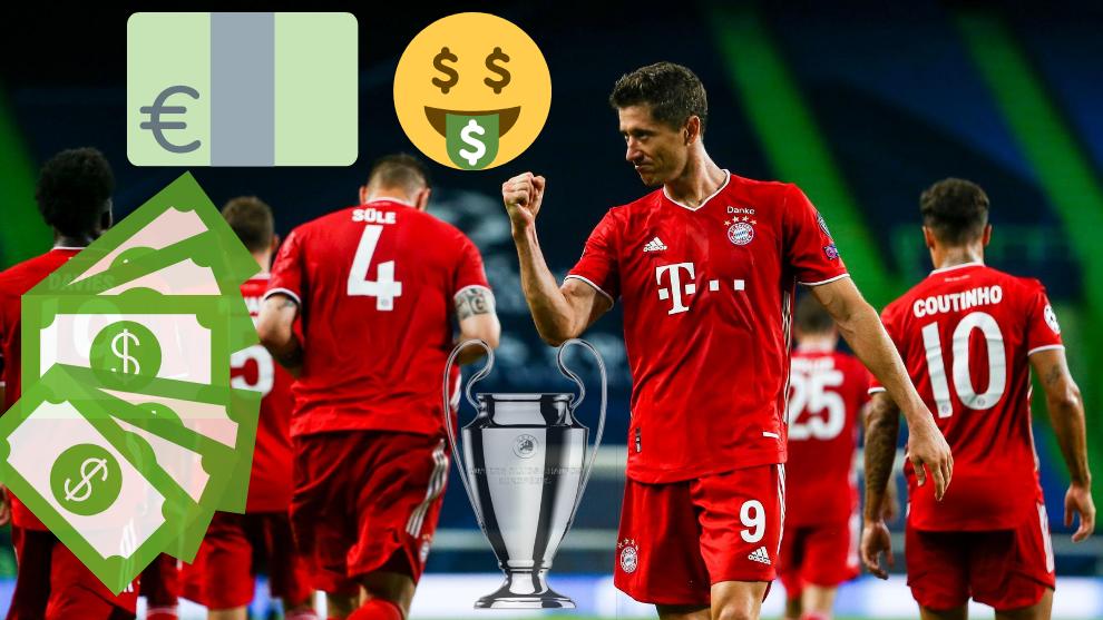 El Bayern, una máquina de hacer dinero.