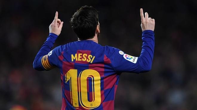 El 10 de Messi.