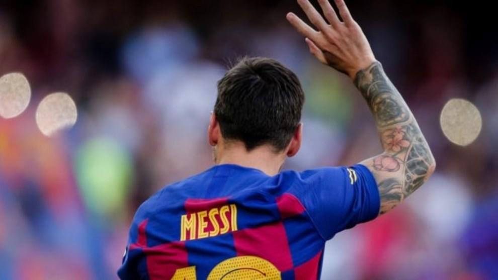 Leo Messi no se ha presentado con el Barcelona.