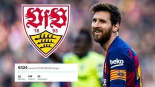 La colecta que quiere llevar a Messi a la Bundesliga.