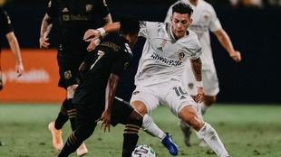 Cristian Pavón vive un gran momento en la Major League Soccer
