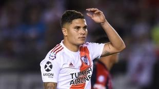 Juan Fernando Quintero quiere marcharse de River