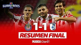 Chivas igualó 1-1 con Querétaro