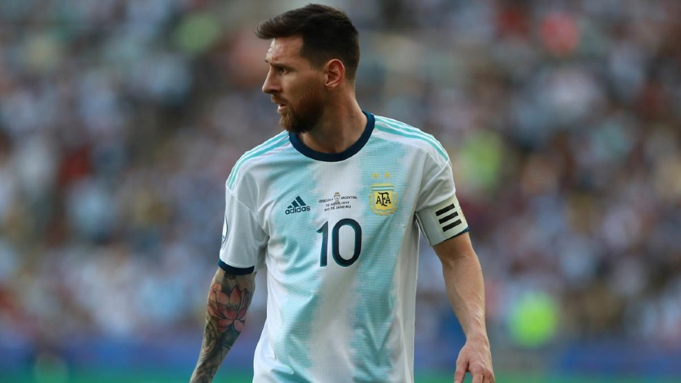 Selección Argentina: Leo Messi podrá estar en el inicio de las Eliminatorias    MARCA Claro Argentina