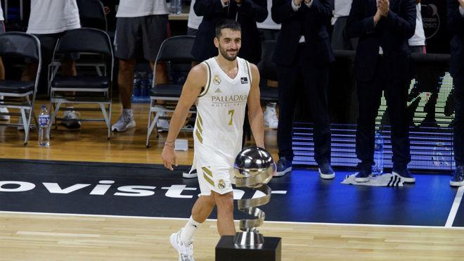 Facundo Campazzo fue MVP de la Supercopa de España