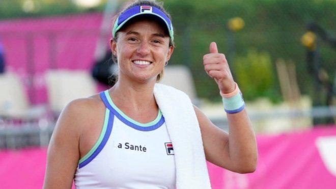 Nadia Podoroska salió campeeona en el ITF W60 de Saint Malo