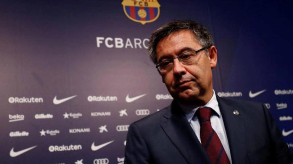 Bartomeu puede salir del Barcelona.