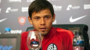 Ángel Romero, durante una conferencia de prensa.