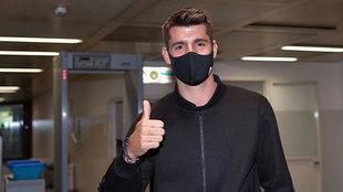 Álvaro Morata vuelve a la Juventus
