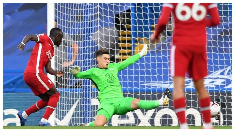 El error de Kepa ante el Liverpool que terminó por cerrar la llegada...