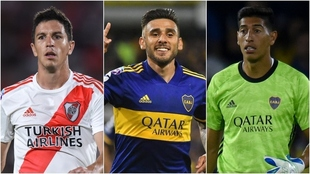 Nacho Fernández, Salvio y Andrada, los mejores de la LPF del FIFA 21