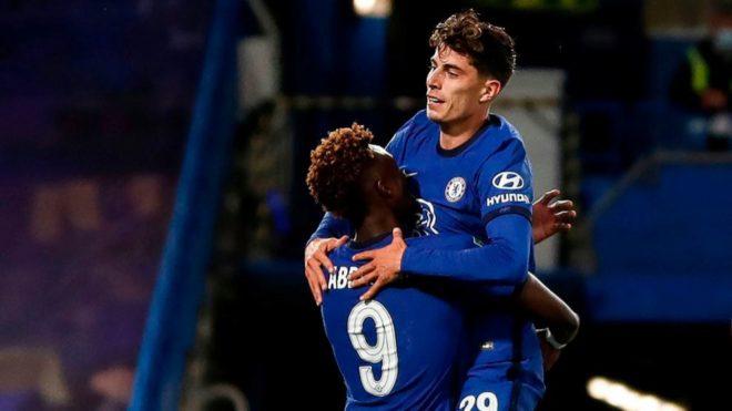 Kai Havertz celebra sus primeros goles en Chelsea