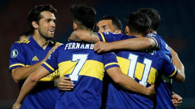 Boca Juniors vs DIM Medellin hoy en libertadores 2020
