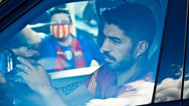 Luis Suárez se despidió entre lágrimas del Barcelona