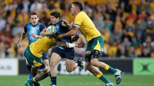 Los Pumas se preparan para el Rugby Championship