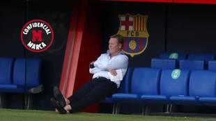 Ronald Koeman, entrenador del Barca.