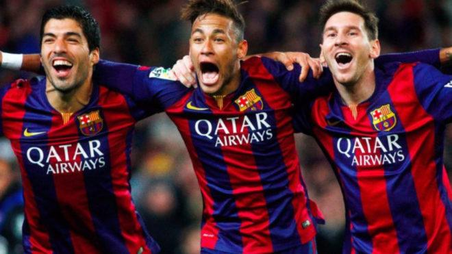 La MSN que supo tener el Barcelona.