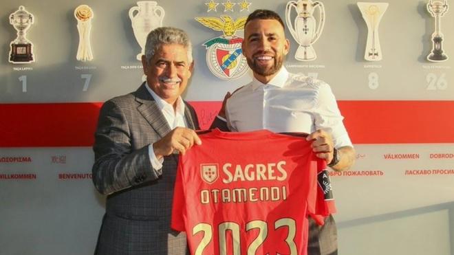Nicolás Otamendi regresa al fútbol portugués