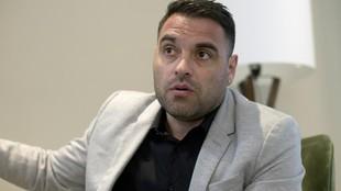 Aldo Duscher, durante una entrevista.