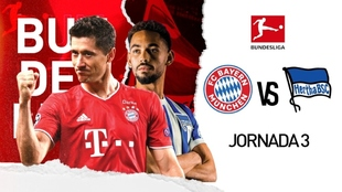 bundesliga 2020: Bayern Munich vs Hertha Berlin en vivo