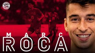 El Bayern confirma el fichaje de Marc Roca hasta 2025.