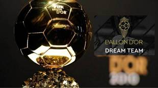France Football presenta el Balón de Oro Dream Team.