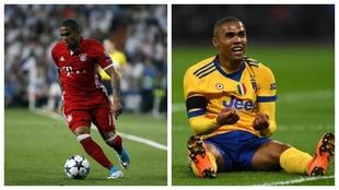 Douglas Costa, con Bayern y Juventus.