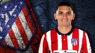 Lucas Torreira ya es nuevo jugador del Atlético de Madrid.