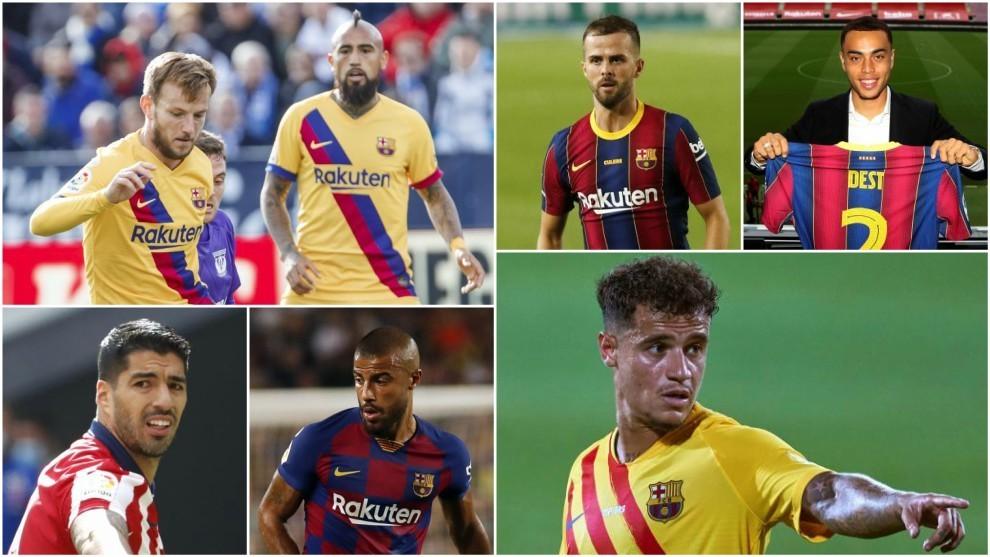 Mercado de fichajes del FC Barcelona: altas y bajas del Barça.