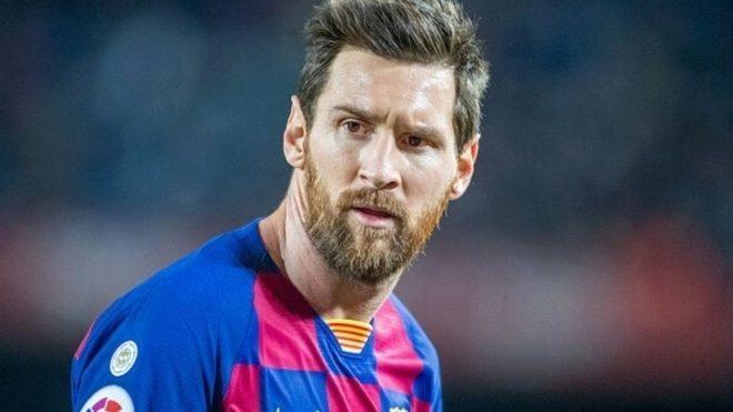 Leo Messi en Barcelona.