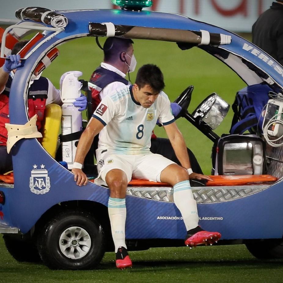 Eliminatorias sudamericanas: Buena noticia para Scaloni: Marcos Acuña no está lesionado | MARCA Claro Argentina