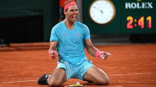 Rafael Nadal consiguió su 13° título en Roland Garros
