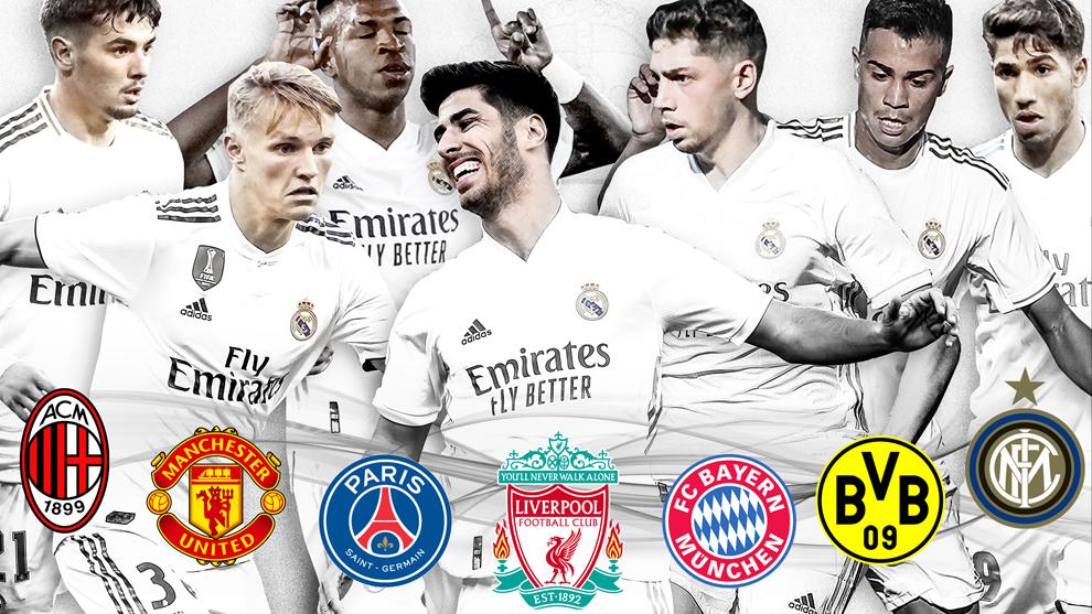 Las perlas del Real Madrid, en el punto de mira.