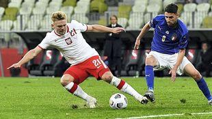 Reparto de puntos entre Polonia e Italia.