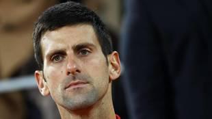 Novak Djokovic, tras perder con claridad ante Nadal