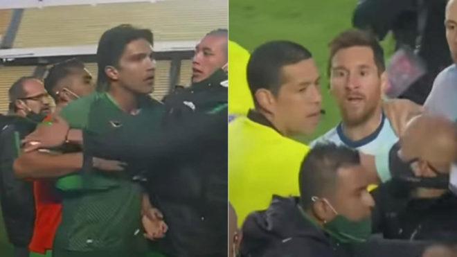Martins y Messi.