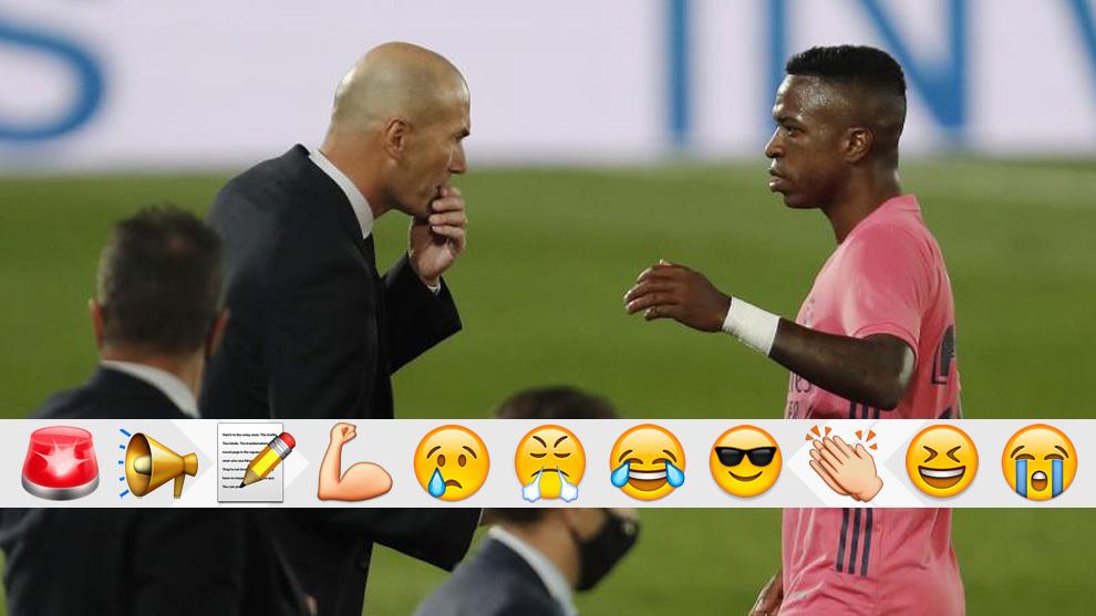 Zidane es uno de los que no está bien en este Real Madrid