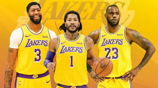 Los Ángeles Lakers son los últimos campeones de la NBA