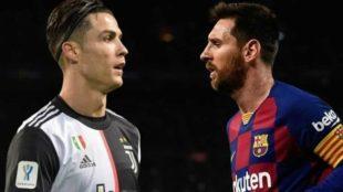 Cristiano y Messi.