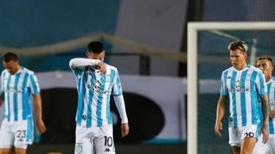 Racing quedó segundo en la Copa Libertadores