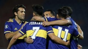 Boca terminó puntero en su grupo de la Copa Libertadores