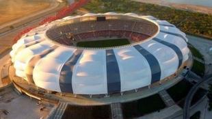 El estadio Único Madre de Ciudades de Santiago del Estero