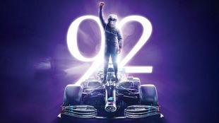 Hamilton, 92 victorias en F1.