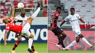 Flamengo, Inter y Athletico Paranaense serán rivales de equipos...