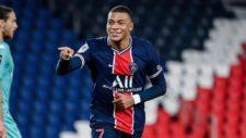 Kylian Mbappé celebra un gol en París Saint-Germain