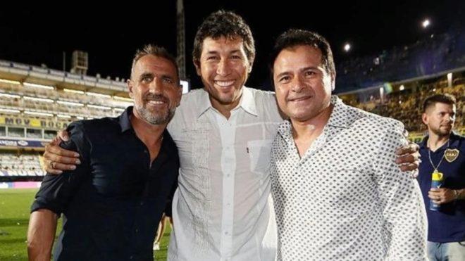 Cascini, Bermúdez y Delgado, parte del Consejo de Fútbol.