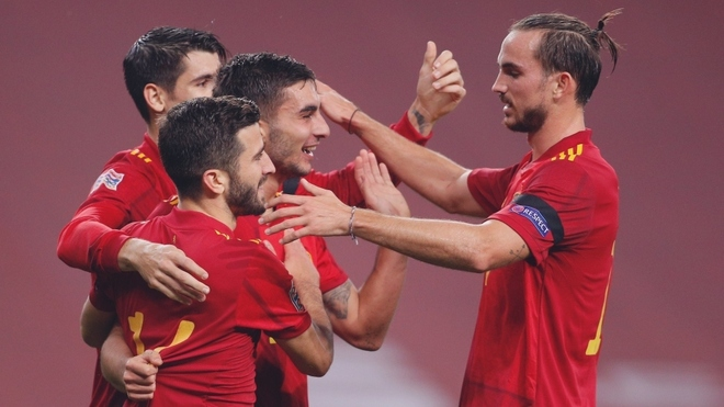 España aplastó a Alemania en la UEFA Nations League