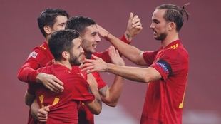 España aplastó a Alemania en la UEFA Nations League