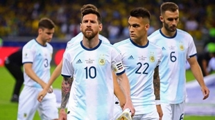 Leo Messi encabeza a la Selección Argentina