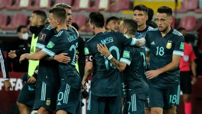 La Selección Argentina tuvo un buen inicio en las Eliminatorias...